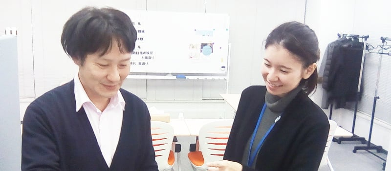 就労移行支援事業所Cocorport新小岩駅前Officeスタッフ